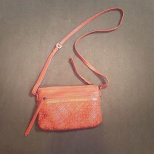 Day & Mood leather crossbody bag